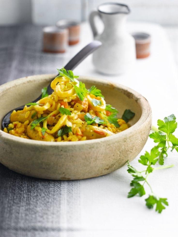 Easy paella http://njam.tv/recepten/easy-paella