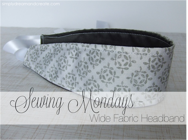 Fabric Headband from simply Dream and Create