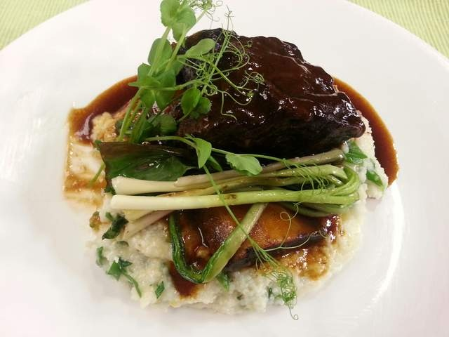 BBQ Stout-Braised Beef Short Ribs | Entree and sides recipes | Pinter ...