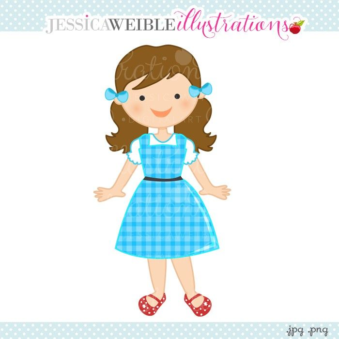 ... Dorothy Clipart - JW Illustrations | JWI // Create with Clipart