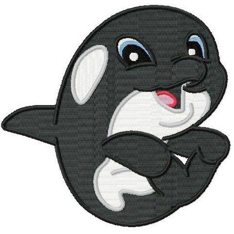 Cute Orca Whale Cartoon Cute baby killer whaleOrca Whale Cartoon