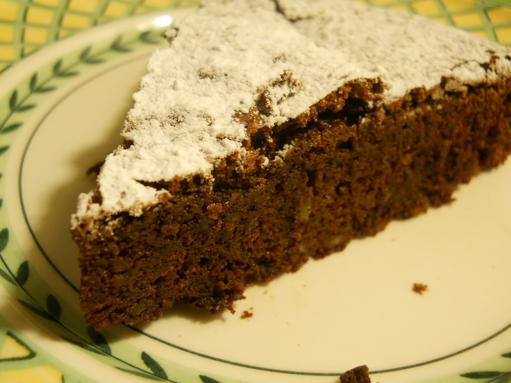 Chocolate Almond and Buckwheat Cake | Cakes | Pinterest