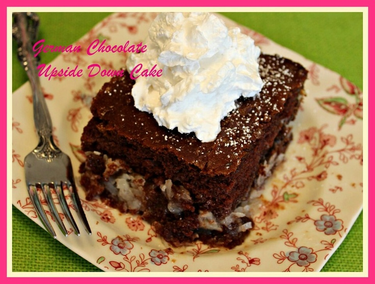 ... like this: german chocolate cakes , chocolate cakes and volcano cake