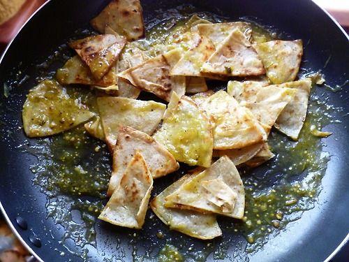 Chilaquiles Verdes | Cocina Mexicana | Pinterest