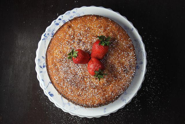 Grapefruit Cake (using almond flour) | Sunday Baker | Pinterest