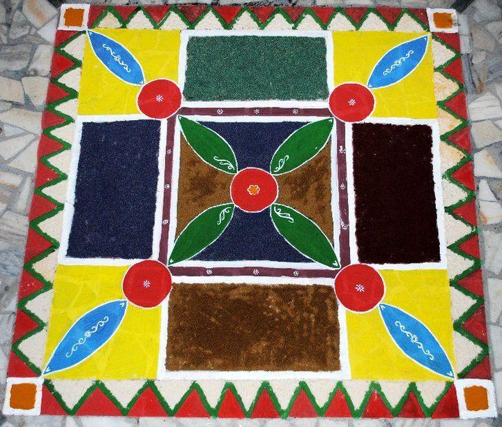 Diwali 2010 @ Kanpur | Rangoli designs | Pinterest