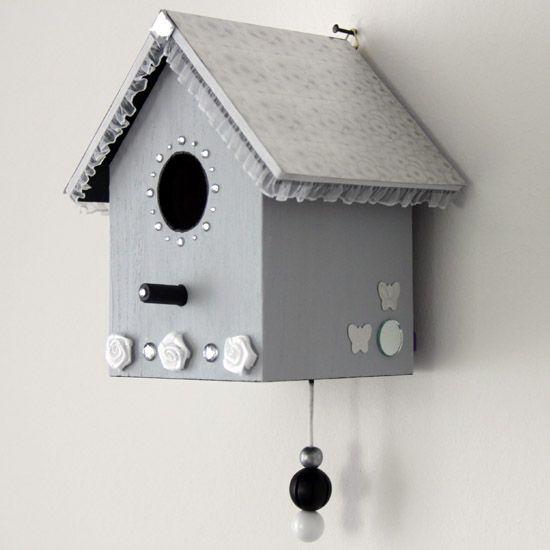 vogelhuisje met muziekdoosje http://www.netevenietsanders.nl/