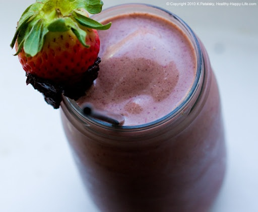 chocolate-strawberry-banana-shake | Smoothies & Healthy Drinks | Pint ...