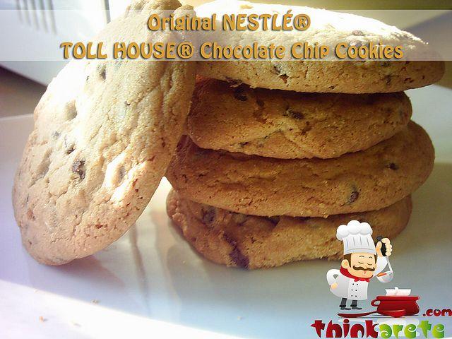 Original NESTLE TOLL HOUSE Dark Chocolate Chip Cookies Recipe ...