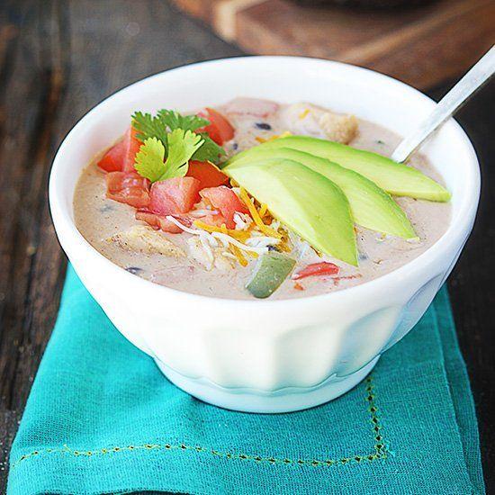 Creamy Chicken Fajita Soup | Soups | Pinterest