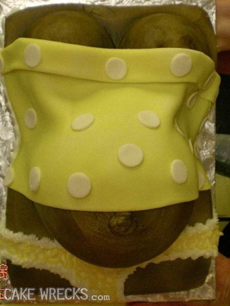whole post on horribly bad baby shower cakes cake wrecks home