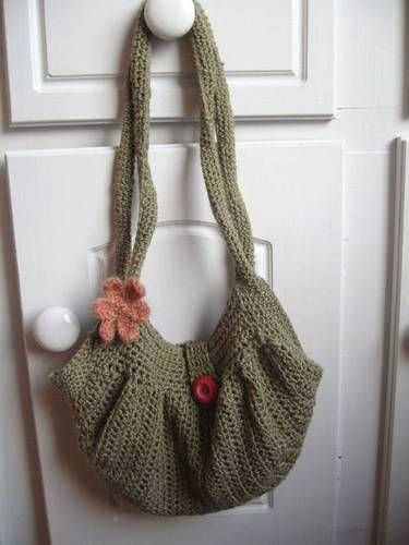 Fat Bottom Bag - CROCHET Bags Pinterest