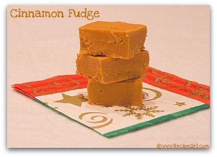 Cinnamon Fudge