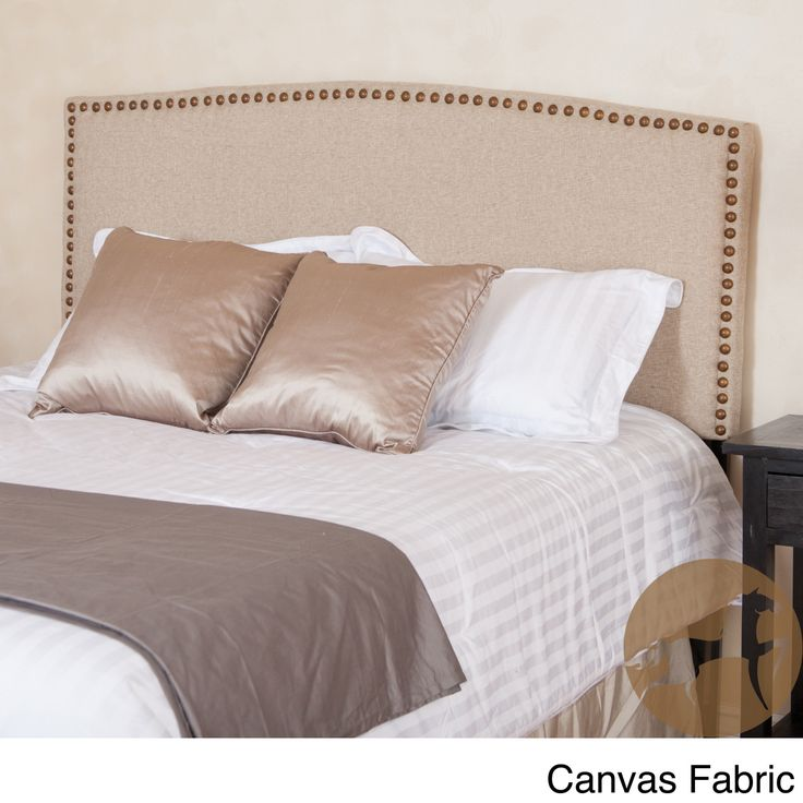 Christopher knight home del mar adjustable canvas fabric for Studded bed frame