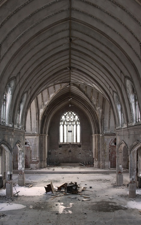 Abandoned Church Interesting With Creepy Old Abandoned Church Photos