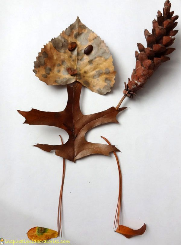 Leaf Man - art inspired by Leaf Man by Lois Ehlert {plus 100 more Lois Ehlert book-based ideas}
