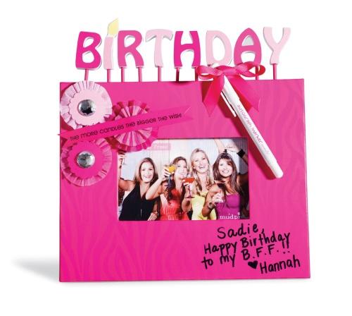 Birthday Autograph Frame | Zoe's Birthday Ideas | Pinterest