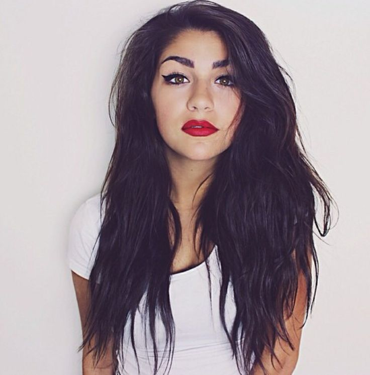 Andrea's red lips are perfect | We Heart It | andrea ...
