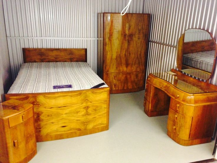 Art deco bedroom suite for Ebay bedroom suites
