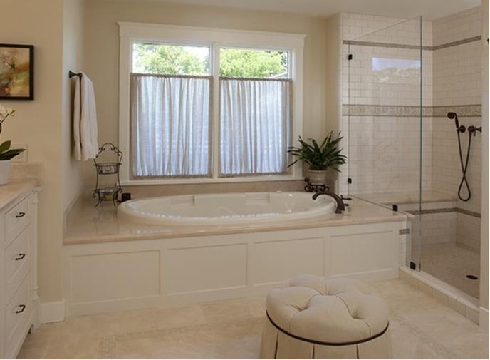 Crema marfil marble dream bathroom pinterest for Crema marfil bathroom ideas