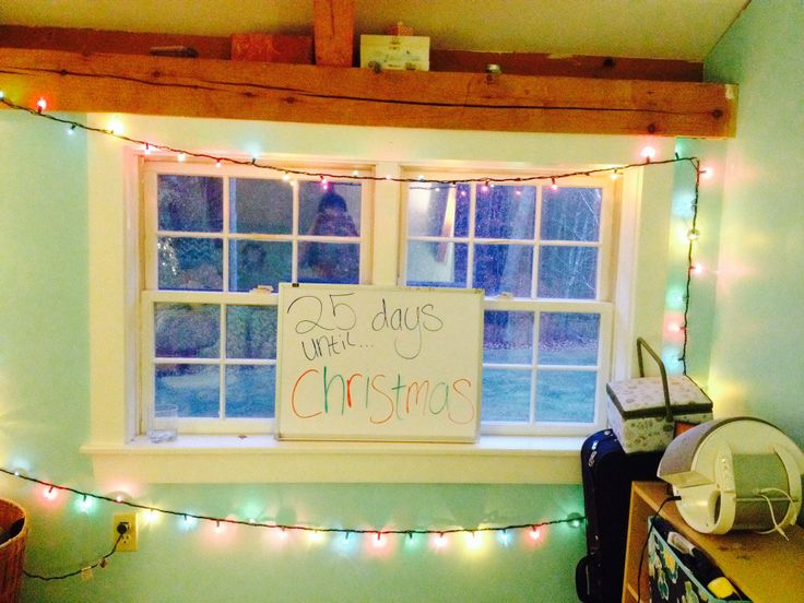 Christmas whiteboard countdown   House   Pinterest