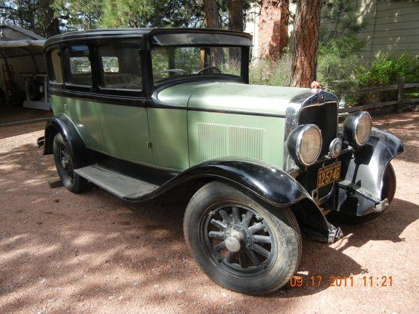 1930 plymouth 4 door sedan antique and classic mopars for 1930 plymouth 4 door sedan