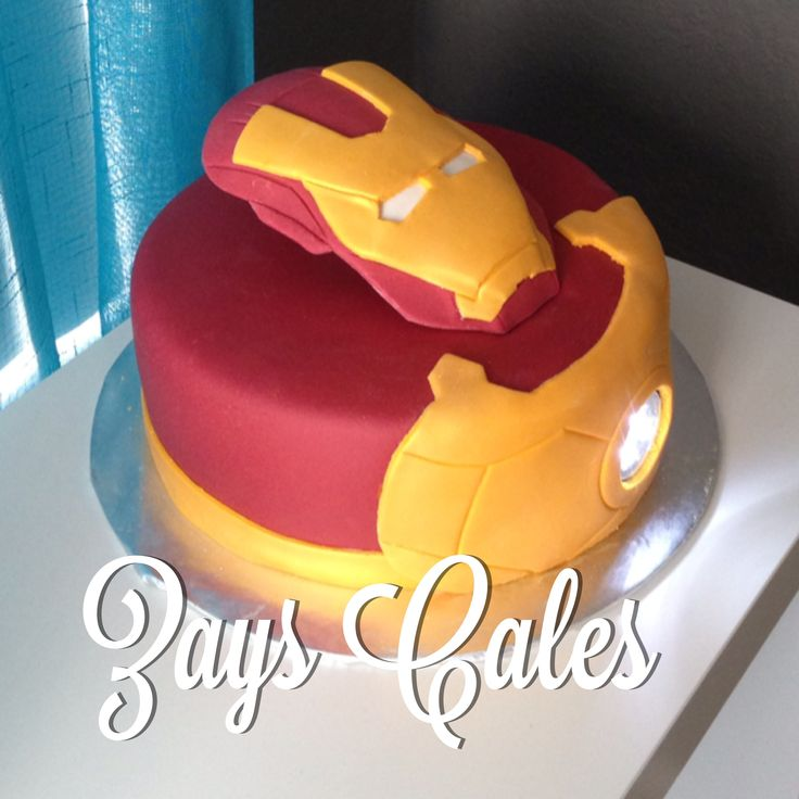 Images Of Iron Man Birthday Cakes : iron man cake!! cake decorating Pinterest