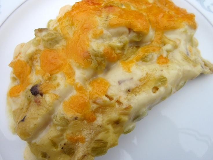 sour cream chicken enchiladas | Delectable Dishes | Pinterest