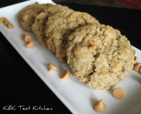 Oatmeal Butterscotch Cookies | Fun food ideas! | Pinterest