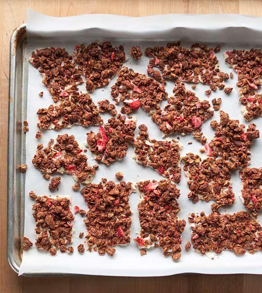 Recipe: Strawberry-Almond Granola Bark — Recipes from The Kitchn