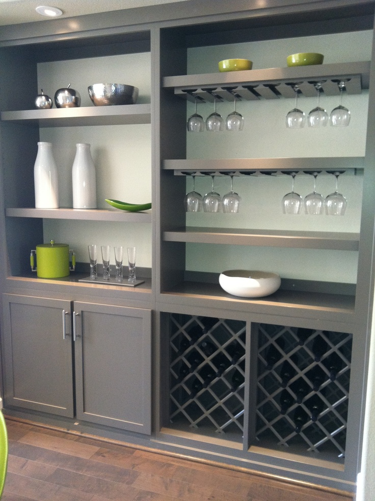 Built in wine bar great idea for the home pinterest for Built in wine bar ideas
