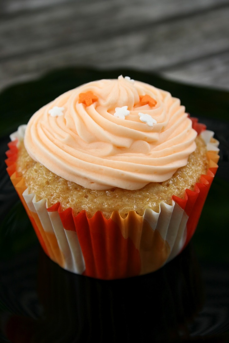 Creamsicle Cupcakes | Cuppy Cakes | Pinterest
