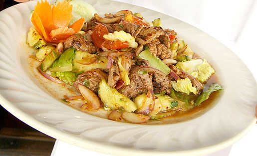 Surin's Spicy Beef Salad | Lunch and Dinner | Pinterest