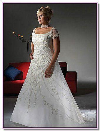 Plus size beach wedding dresses country weddings pinterest for Beach wedding dresses for plus size