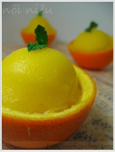 Orange Sorbet | Deliciousness | Pinterest