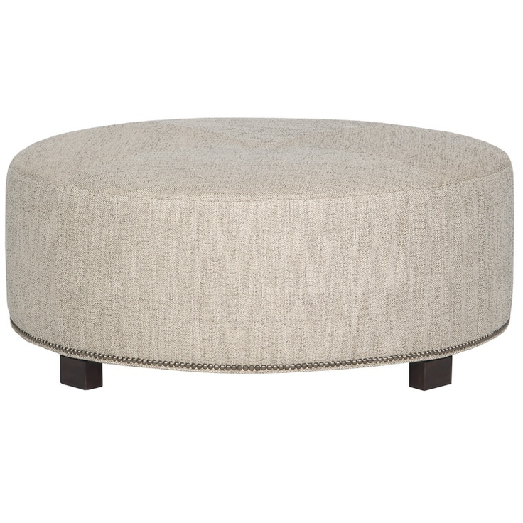 Love This Round Cocktail Table Ottoman Living Pinterest