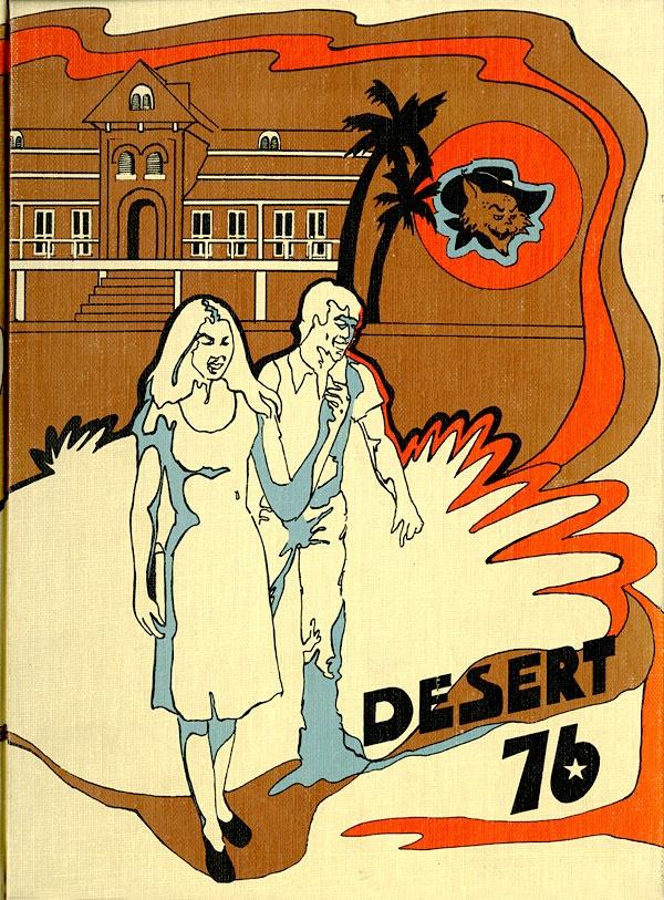 1976 Desert, University of Arizona Yearbook