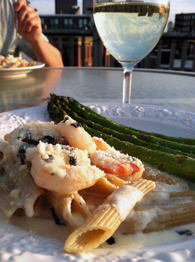 Shrimp in White Wine Cream Sauce | foods to try | Pinterest