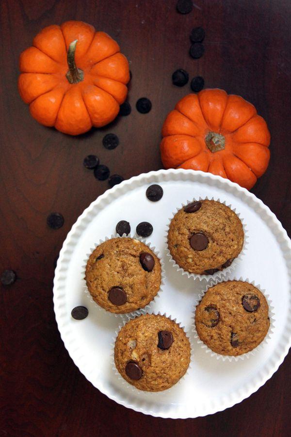 Pumpkin Chocolate Chip Muffins | Recipe