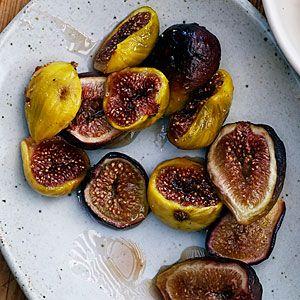 Honey Roasted Figs   MyRecipes.com