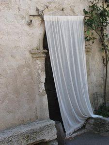curtained doorway