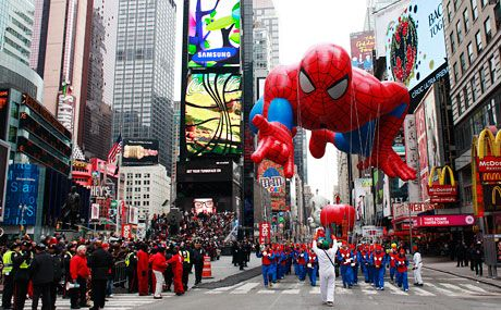 Top holiday events in new york city macy 39 s thanksgiving for Christmas day in new york