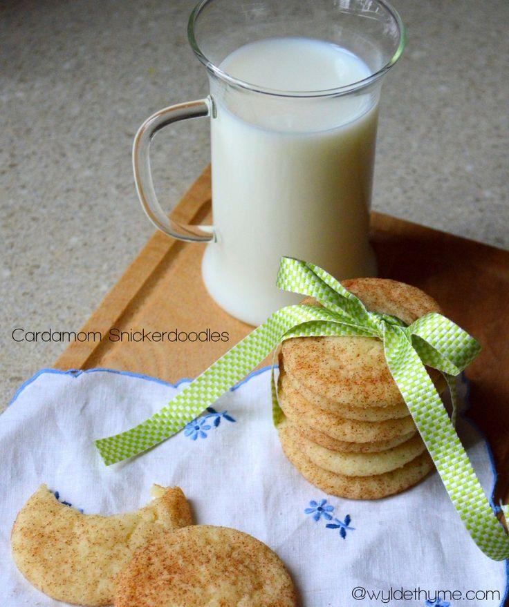 Cardamom Snickerdoodles | Cookies & Bars | Pinterest