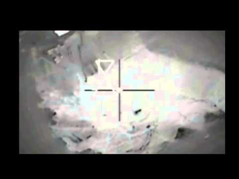 Newly released raw footage shows us bombing missions against isis in