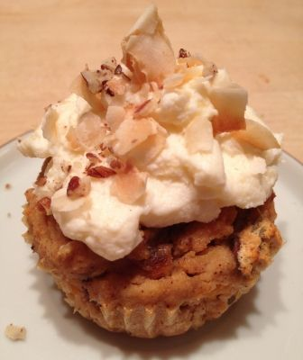 Recipes - Gluten Free Carrot Cake Cupcakes - A Gluten Free, Paleo Diet ...