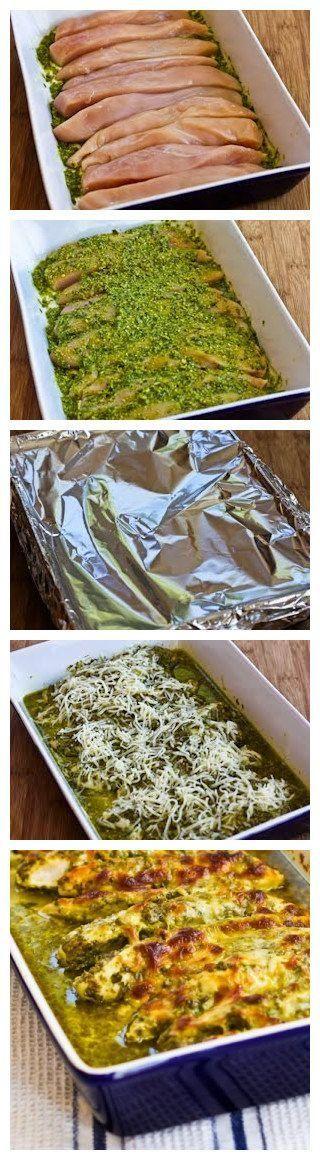 Easy Recipe for Baked Pesto Chicken - Joybx