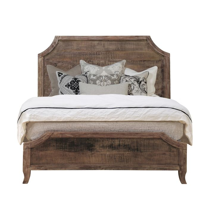 Antique Wood Bed Frame 736 x 736