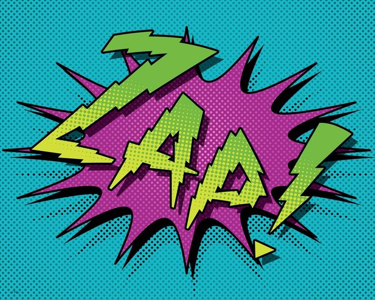 ZAP-comic-book-inspired-poster.jpg 1,000×800 pixels