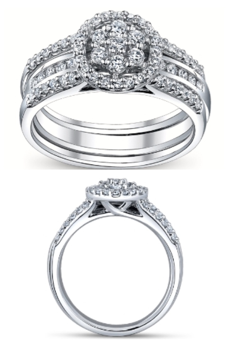 engagement rings that fit into wedding bands awesome