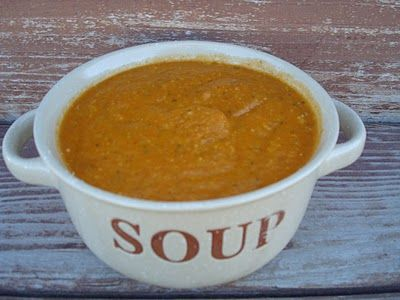 roasted red pepper soup | Slow cooker: Recipes to make into slow coo ...